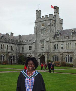 """""""Lloré muchas veces pero lo logré"""", joven garífuna logra maestría en Irlanda"""