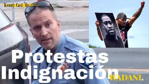Protestas e indignación