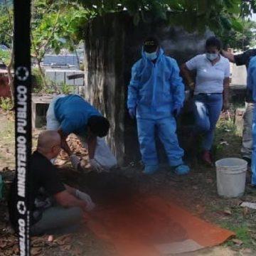 Ministerio Público exhuma cuerpo de dos garífunas 24 años después de su asesinato