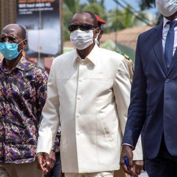 Alpha Condé, reelecto por tercera vez como presidente de Guinea con un 59,49 %