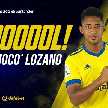 Choco Lozano, impresionante actuación y gol al Real Madrid