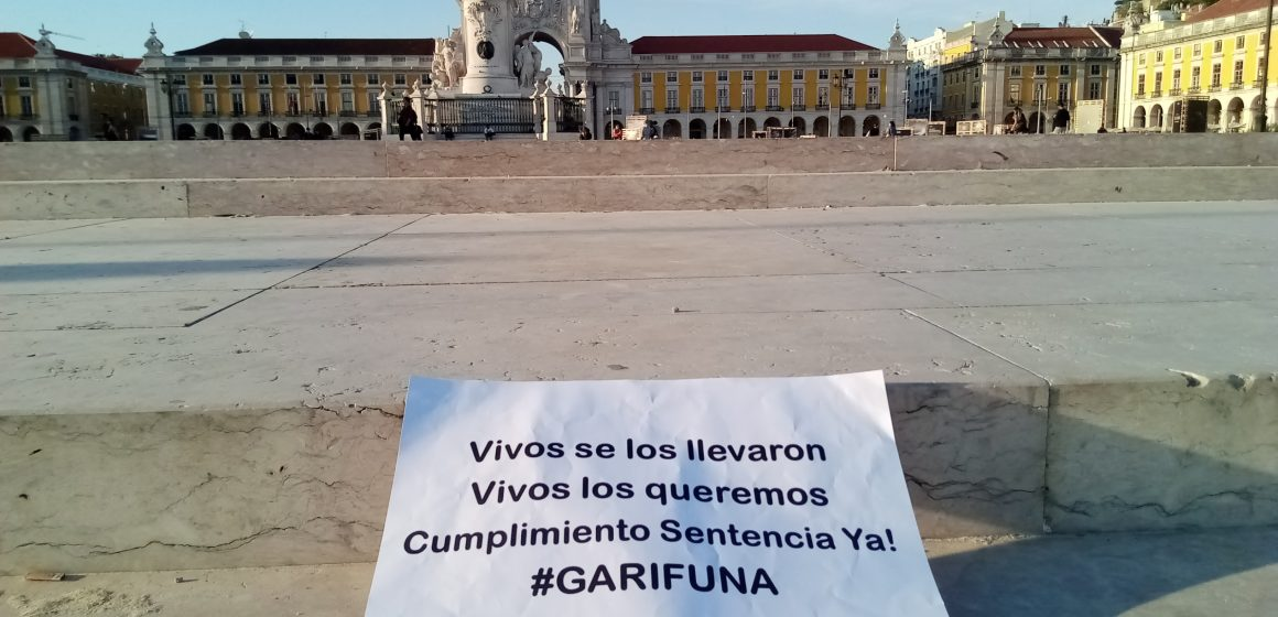 Campaña de OFRANEH-Garífuna en Europa, inicia en Lisboa, Portugal