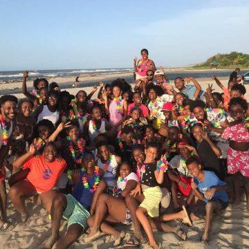 Sambo Creek Familia de baile, para mostrar al mundo las danzas garínagu