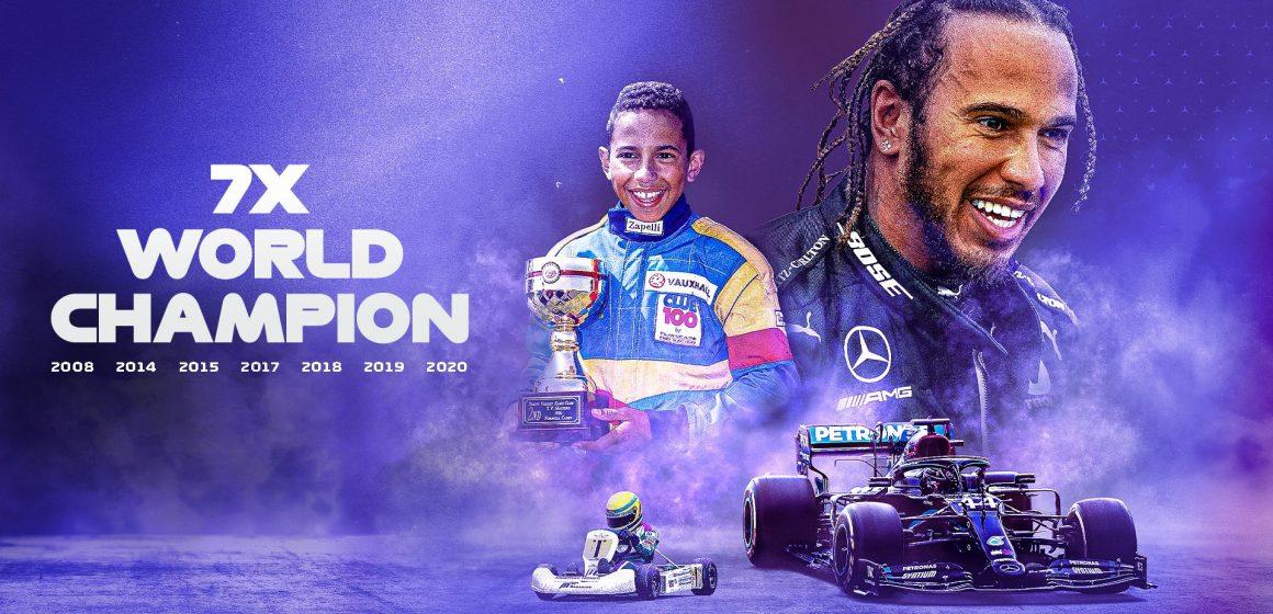 Lewis Hamilton se corona en Turquía como Campeón mundial de Fórmula 1