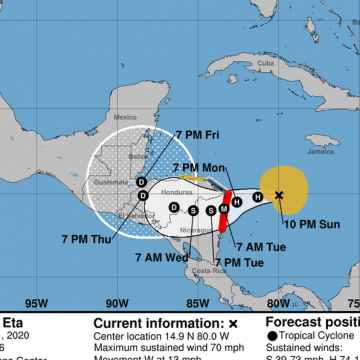 Pese a que Huracán Eta viene a Honduras, confirman el Morazánico