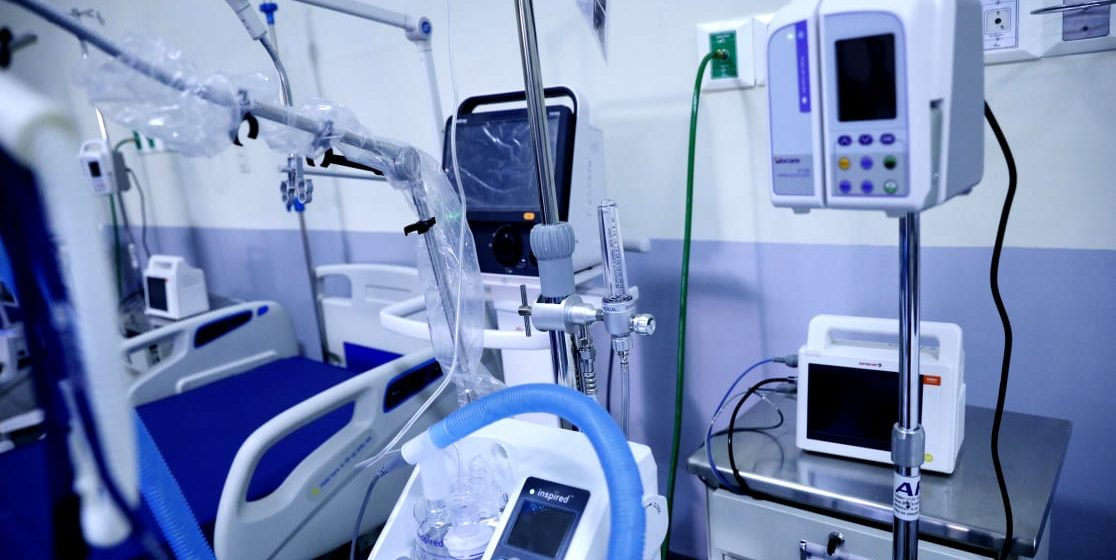 Hospital San Felipe habilita moderna sala UCI para atender a pacientes con COVID-19