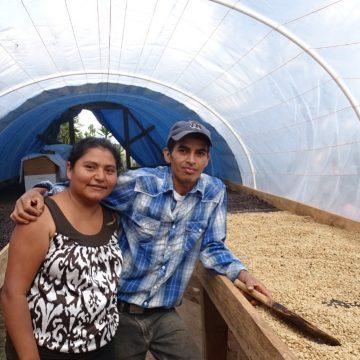 Con apoyo de Ayuda en Acción compradores internacionales visitan fincas de café en poblaciones indígenas de Lempira