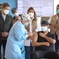40 enfermeras las primeras vacunadas contra la Covid 19 en Honduras con remesa venida de Israel