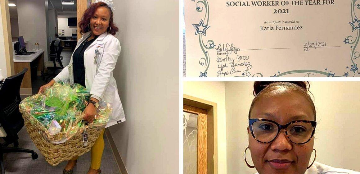 Profesional hondureña, 'Trabajadora social del año 2021' en hospital Kennestone de Atlanta