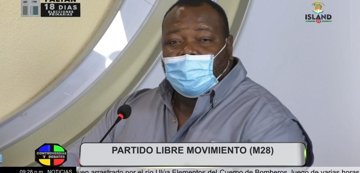 Consternación en Punta Gorda por muerte repentina del presidente del Patronato, Dayni Róchez