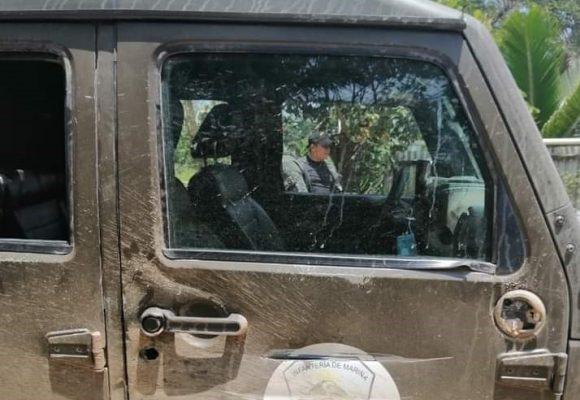Supuestos delincuentes atacan con piedras y balas a militares en Punta Piedra
