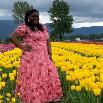 Julissa Thomas: Festival de tulipanes en Canadá a la vista de una mujer garífuna