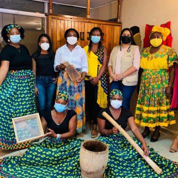 Feria Empresarial Mujeres Afro-hondureñas en La Ceiba