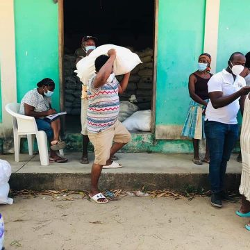 Entregan ayuda humanitaria en el municipio de Juan Francisco Bulnes