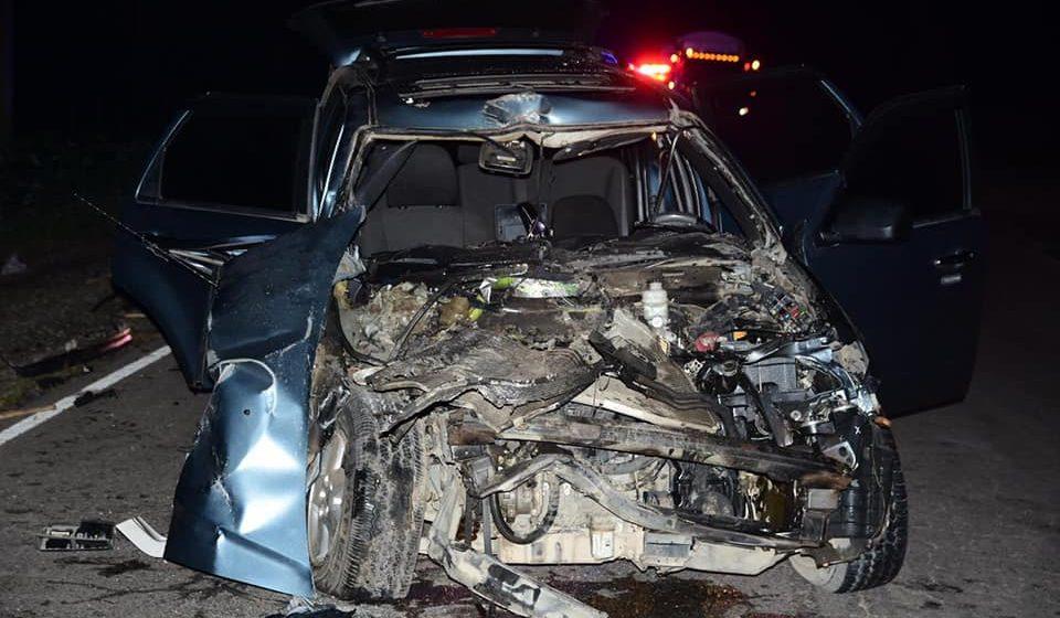 ¡Bombazo! Joven garífuna se salva de milagro en accidente de tráfico