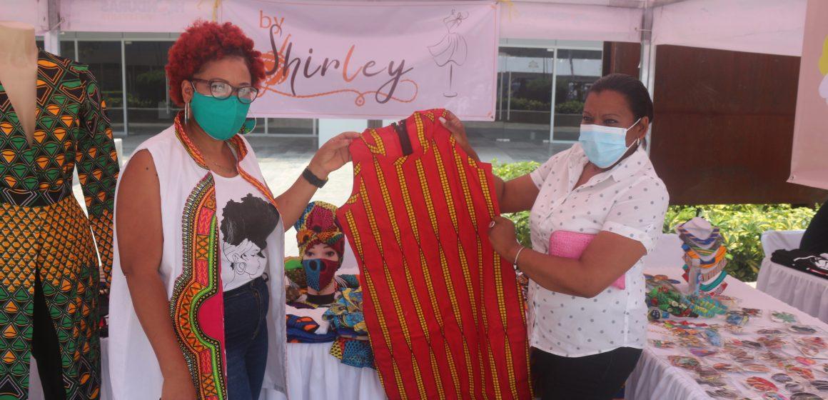Exitosa feria 'Emprende Afro' en el cierre del Mes de la Herencia Africana