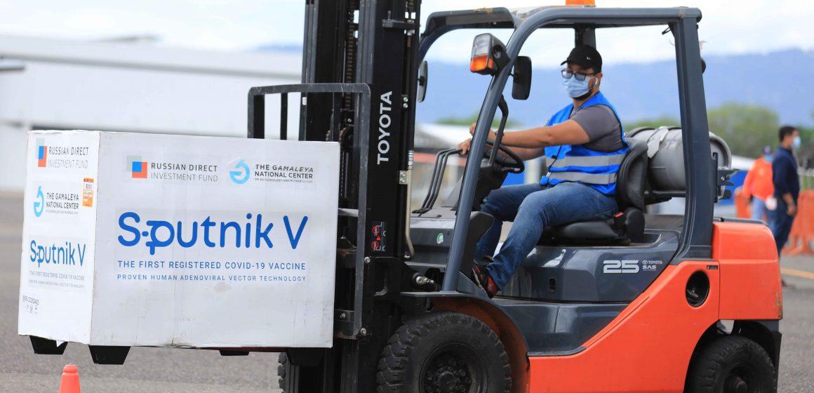 40.000 dosis de Sputnik V llegan a Honduras para continuar vacunación
