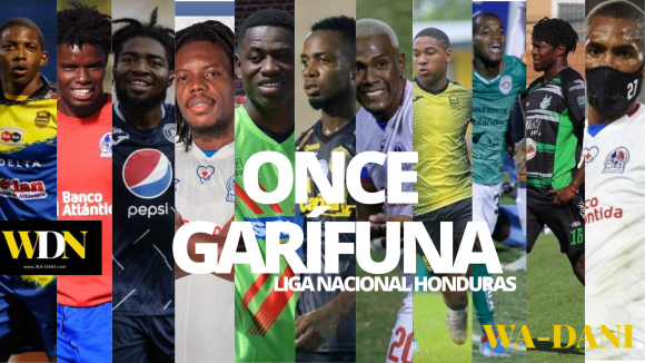 El once ideal garífuna en la Liga Nacional