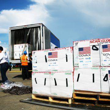 Estados Unidos dona a Honduras 1.5 millones de dosis de vacunas contra COVID-19