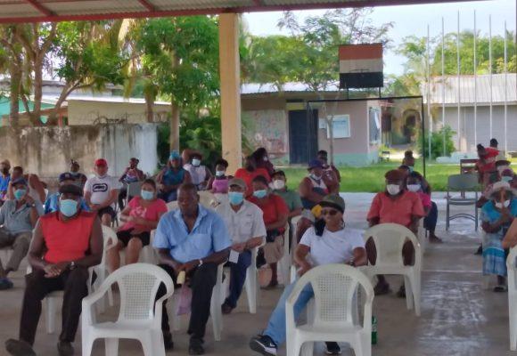 Osmán López, reelecto presidente del Patronato de la comunidad garífuna de Tornabé
