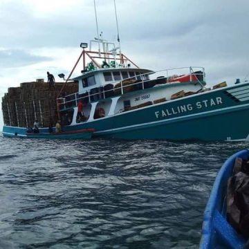 Falling Star, el bote pesquero con marinos garífuna se habría hundido