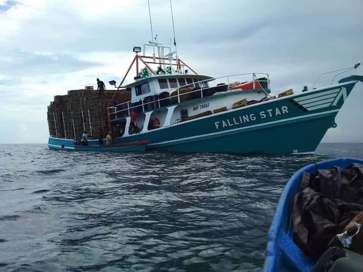 Escombros encontrados en el suroeste de Jamaica presuntamente del «Falling Star»