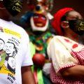 """FOTOGALERĺA: Protesta garífuna en el Ministerio Público,""""Vivos se los llevaron, Vivos los queremos"""""""