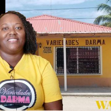 """Darcel Marín de Variedades Darma """"Si una quiere emprender, hasta con cien lempiras puede comenzar"""""""