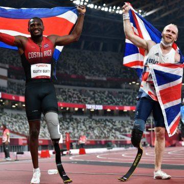 Sherman Guity da medalla de plata a Costa Rica en los Juegos Paralímpicos de Tokio