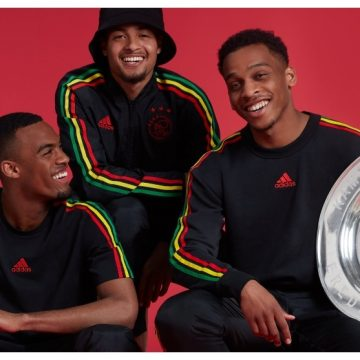 Ajax, famoso equipo a nivel mundial, luce colores del Rasta Fari en homenaje a Bob Marley