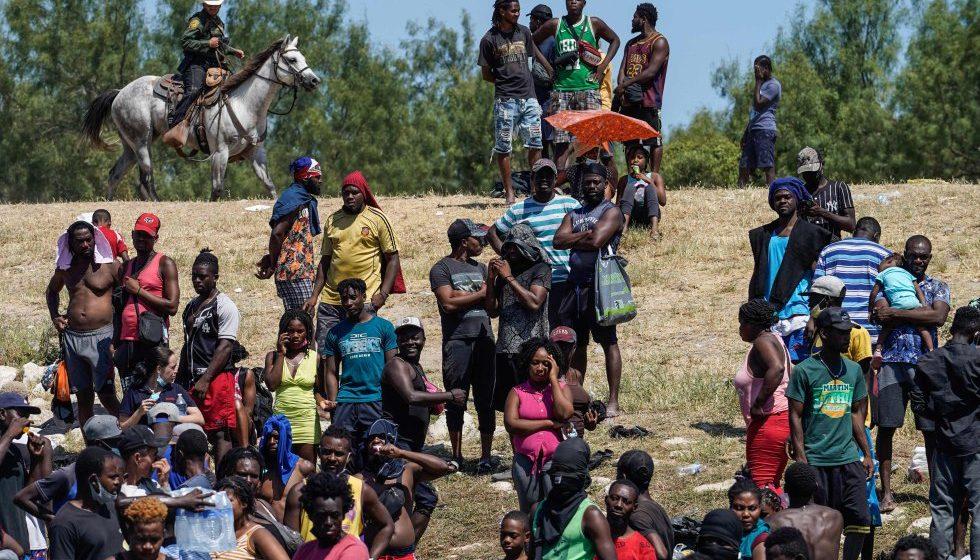 Haitianos en la frontera México-Estados Unidos, una crisis que muestra lo peor de esos tres países