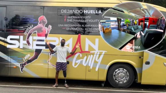 Sherman Guity en gira de superación y esperanza de oro por Costa Rica