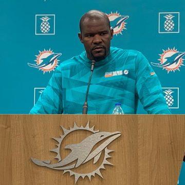 Brian Flores DT de los Miami Dolphins «Hay mucho que aprender de la cultura garífuna»