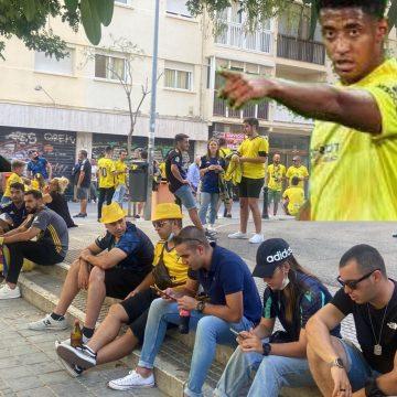 «Choco pesa aquí en Cádiz», la impresión de un aficionado catracho tras ver el Cádiz-Valencia