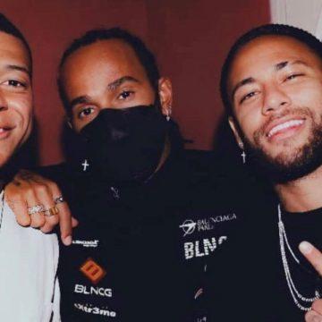 Mbappé, Hamilton y Neymar: Una foto que no le gustará al 'status quo' del deporte